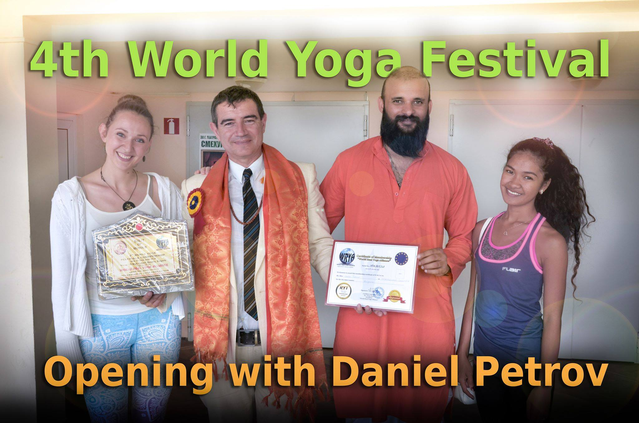 4th world yoga festival daniel petrov